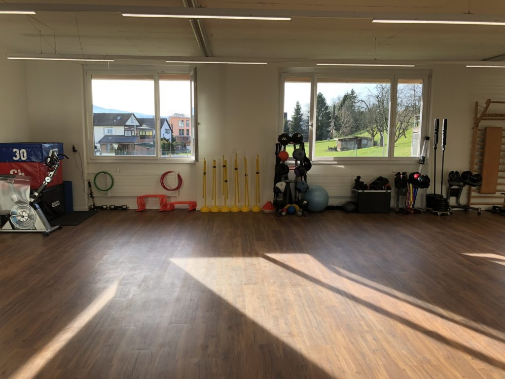 Personal Training Studio Umbau