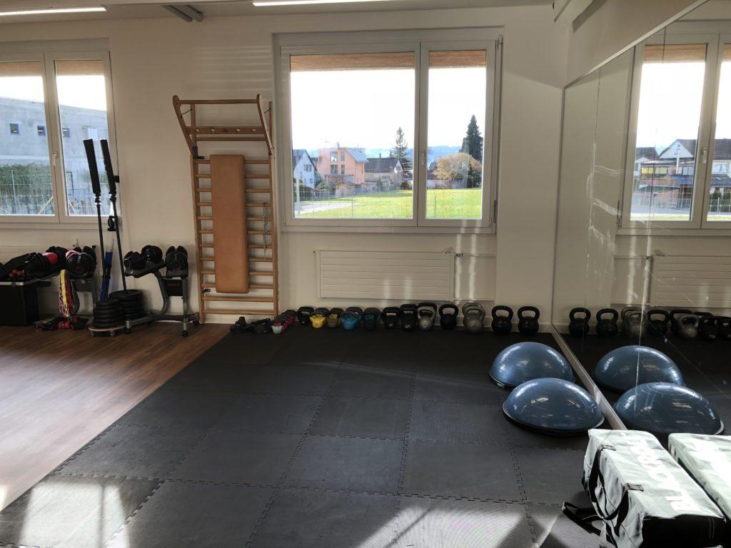 Personal Training Studio Umbau